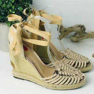 NWT Catherine Maladrino | Miyoko wedge sandal